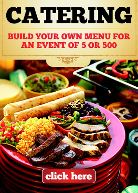 build your own catering menu